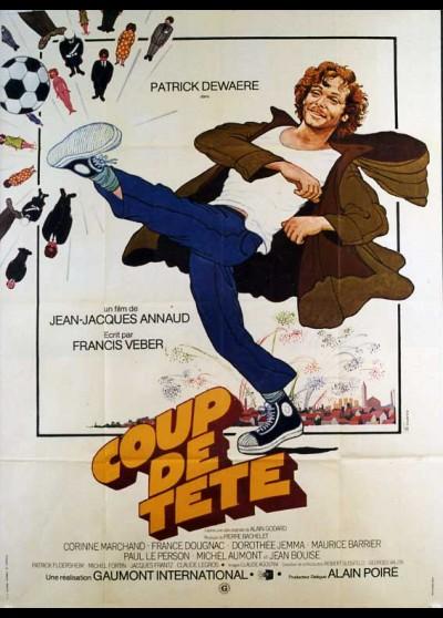 affiche du film COUP DE TETE