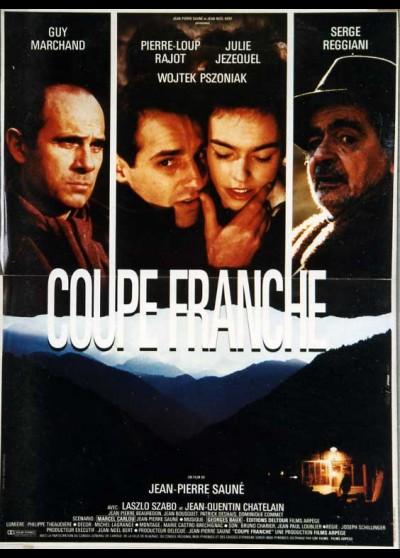 affiche du film COUPE FRANCHE