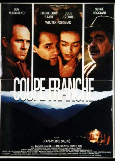 COUPE FRANCHE movie poster