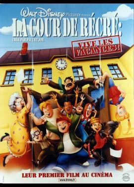 affiche du film COUR DE RECRE (LA)