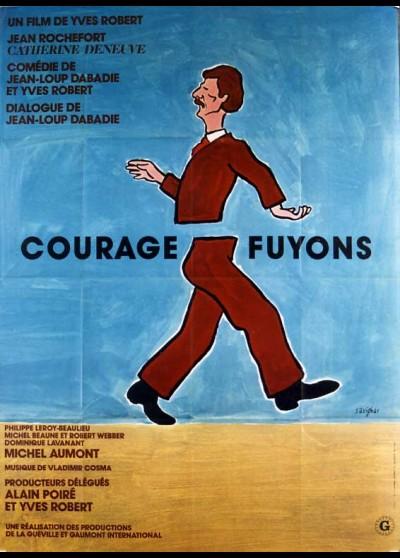 affiche du film COURAGE FUYONS