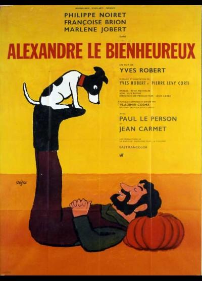 affiche du film ALEXANDRE LE BIENHEUREUX