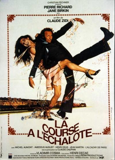 affiche du film COURSE A L'ECHALOTE (LA)