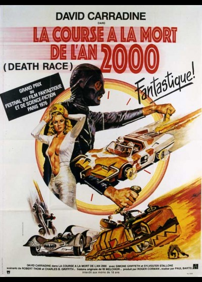 DEATH RACE 2000 movie poster