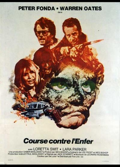 affiche du film COURSE CONTRE L'ENFER