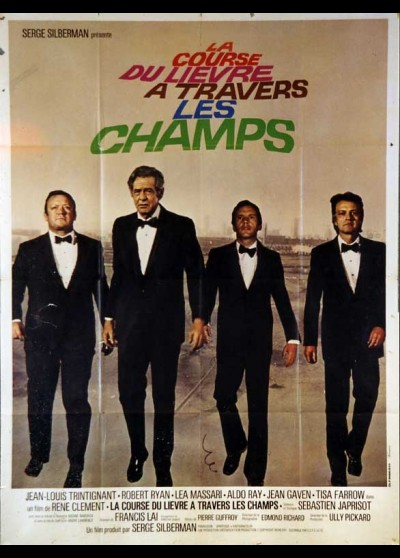 affiche du film COURSE DU LIEVRE A TRAVERS LES CHAMPS (LA)