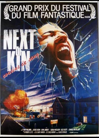 affiche du film NEXT OF KIN COUSINS DE SANG