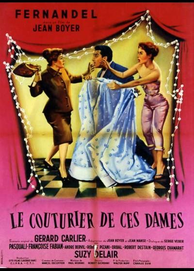 affiche du film COUTURIER DE CES DAMES (LE)