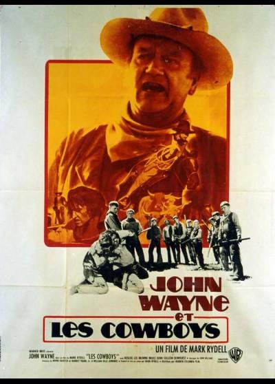 affiche du film COWBOYS (LES)