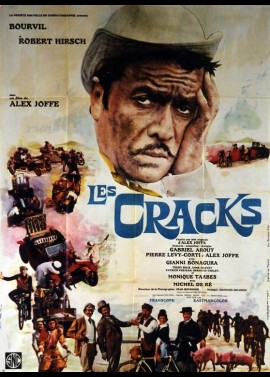 CRACKS (LES) movie poster