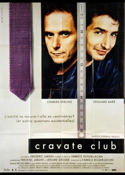 affiche du film CRAVATE CLUB