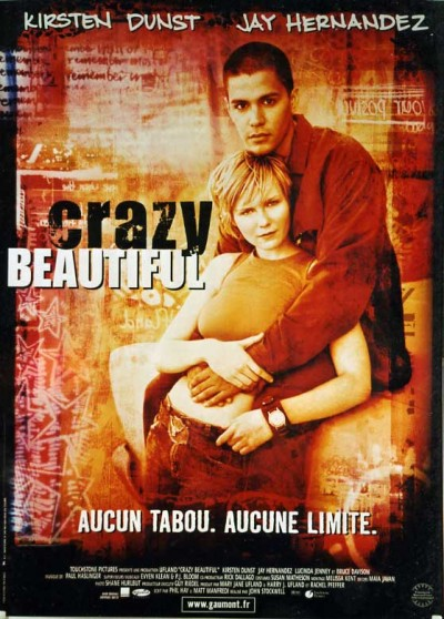 CRAZY BEAUTIFUL movie poster