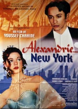affiche du film ALEXANDRIE NEW YORK