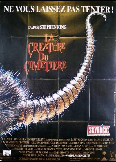 affiche du film CREATURE DU CIMETIERRE (LA)