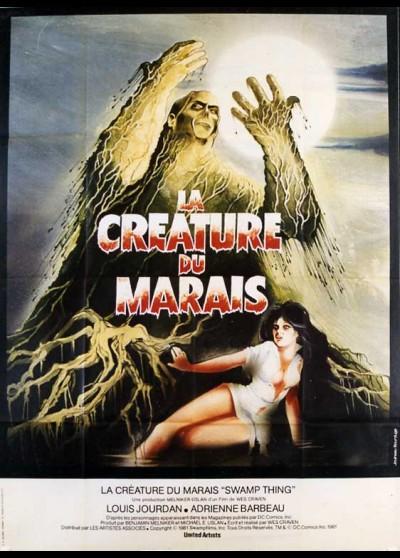affiche du film CREATURE DU MARAIS (LA)