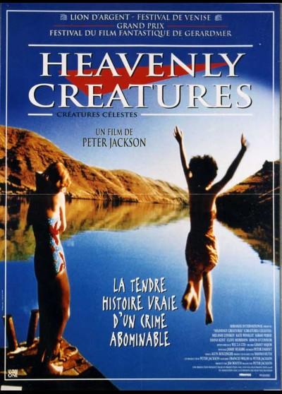 affiche du film CREATURES CELESTES