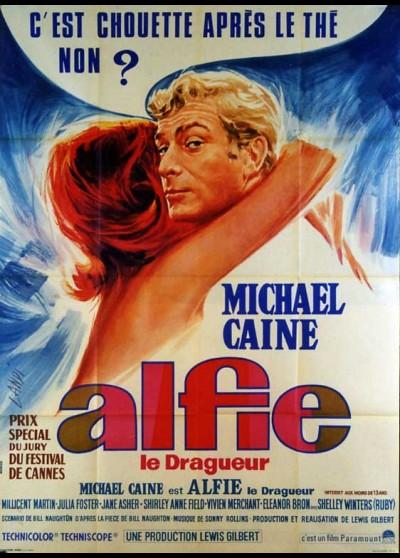 affiche du film ALFIE LE DRAGUEUR