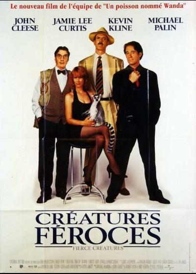 affiche du film CREATURES FEROCES
