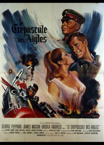 affiche du film CREPUSCULE DES AIGLES (LE)