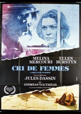 affiche du film CRI DE FEMMES