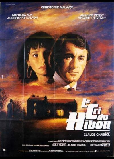 affiche du film CRI DU HIBOU (LE)