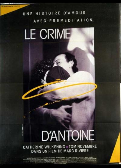 affiche du film CRIME D'ANTOINE (LE)