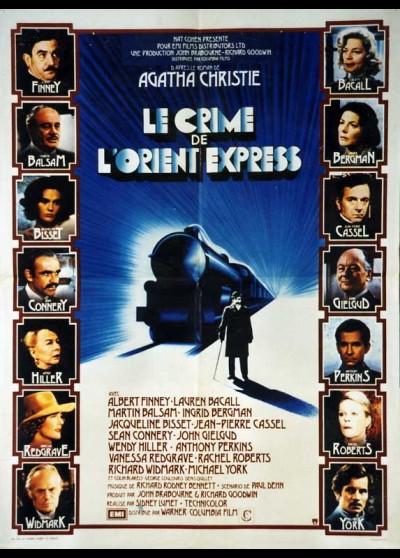 affiche du film CRIME DE L'ORIENT EXPRESS (LE)