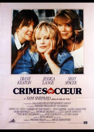 affiche du film CRIMES DU COEUR