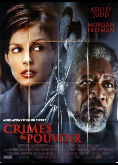 affiche du film CRIMES ET POUVOIRS