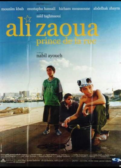 affiche du film ALI ZAOUA PRINCE DE LA RUE