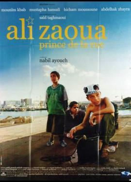 ALI ZAOUA PRINCE DE LA RUE movie poster