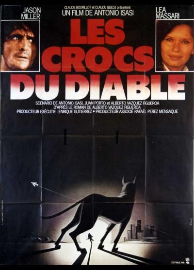 affiche du film CROCS DU DIABLE (LES)