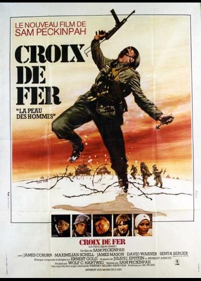 affiche du film CROIX DE FER