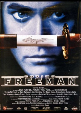 CRYING FREEMAN movie poster