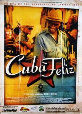 affiche du film CUBA FELIZ