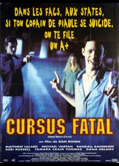 affiche du film CURSUS FATAL