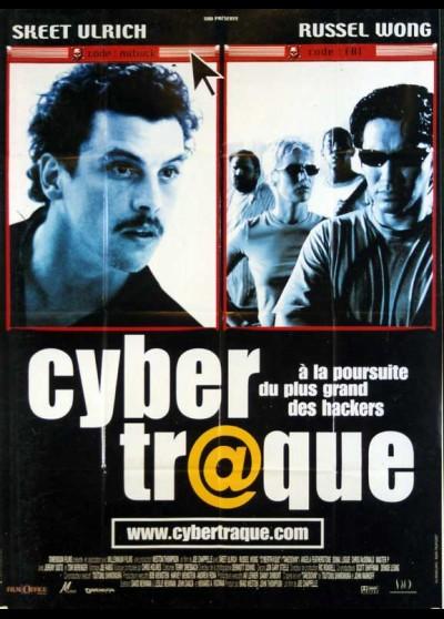 affiche du film CYBER TRAQUE