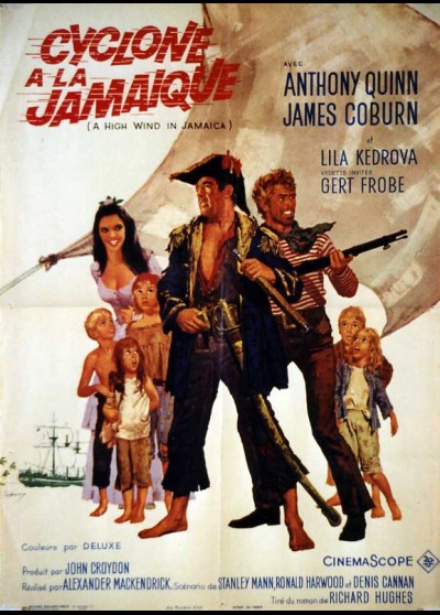 A HIGH WIND IN JAMAICA movie poster