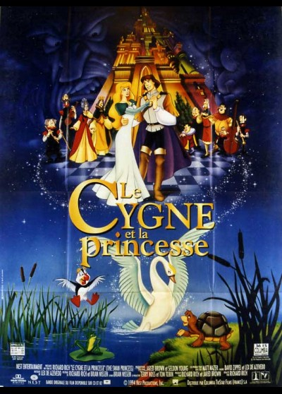 SWAN PRINCESS (THE) movie poster