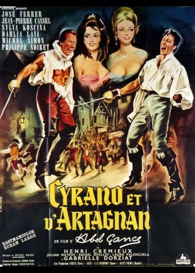CYRANO ET D'ARTAGNAN movie poster