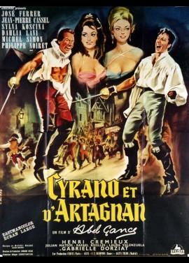 affiche du film CYRANO ET D'ARTAGNAN