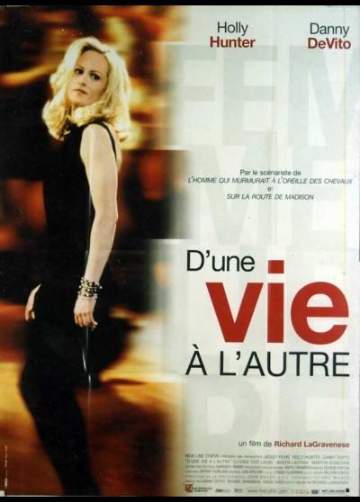 affiche du film D'UNE VIE A L'AUTRE