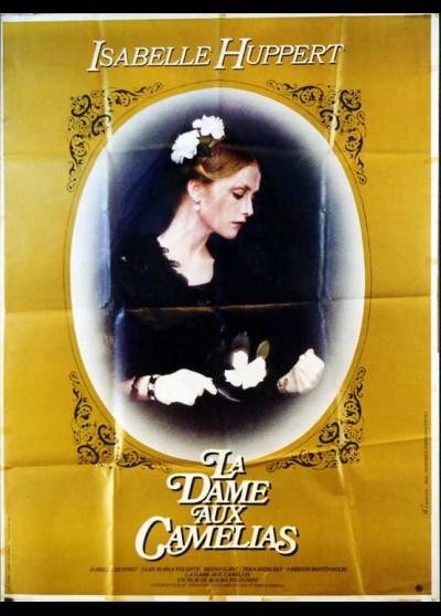 affiche du film DAME AUX CAMELIAS (LA)