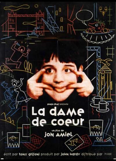 affiche du film DAME DE COEUR (LA)