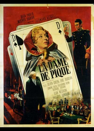 DAME DE PIQUE (LA) movie poster