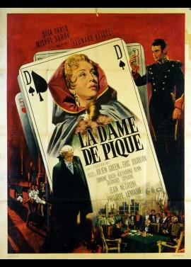 affiche du film DAME DE PIQUE (LA)