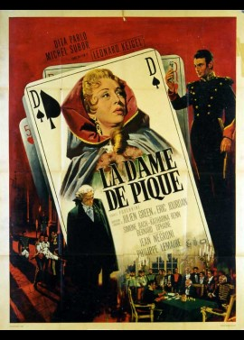 DAME DE PIQUE (LA) movie poster