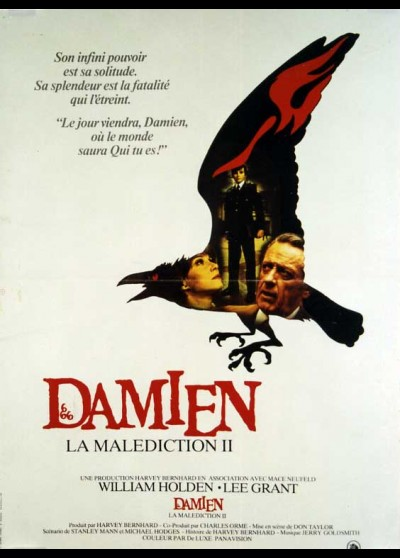 affiche du film DAMIEN LA MALEDICTION 2