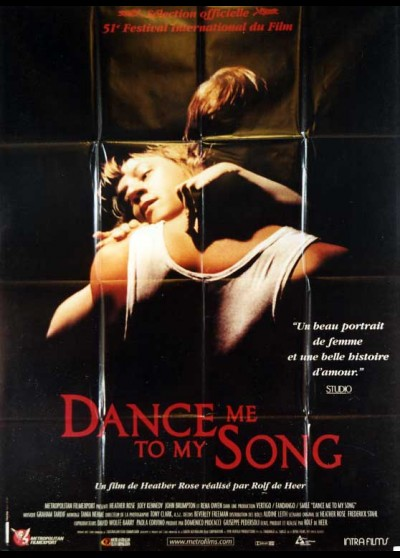 DANCE ME TO MY SONG movie poster