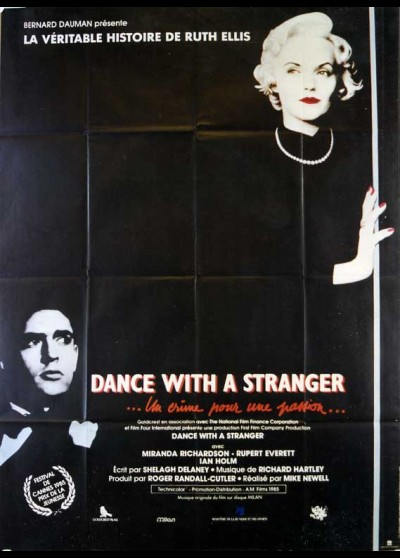 DANCE WITH A STRANGER movie poster